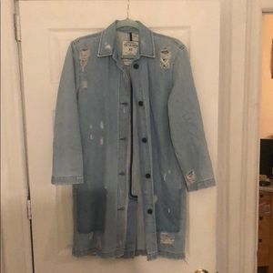 Oversized Jean Jacket (From the Zara in Spain!)